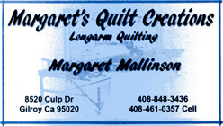 Margarets Quilt Creations